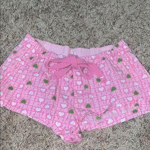 Victoria's Secret pink pj shorts